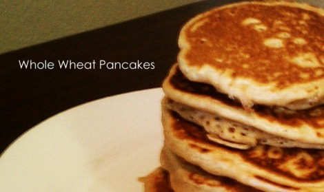 Enlightened Lotus Wellness Whole Wheat Pancakes Recipe