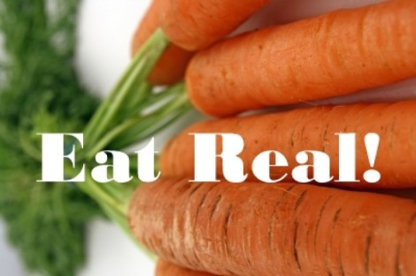 eat real carrots
