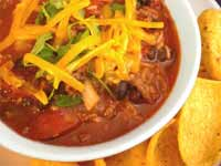 A Warm and Healthy Chili Recipe with Grass-Fed Beef, Chickpea, and Butternut Squash